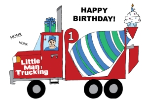 1stBirthdayTrucker